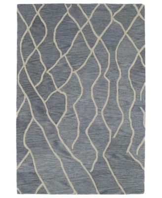 Casablanca CAS03-75 Gray 5' x 8' Area Rug