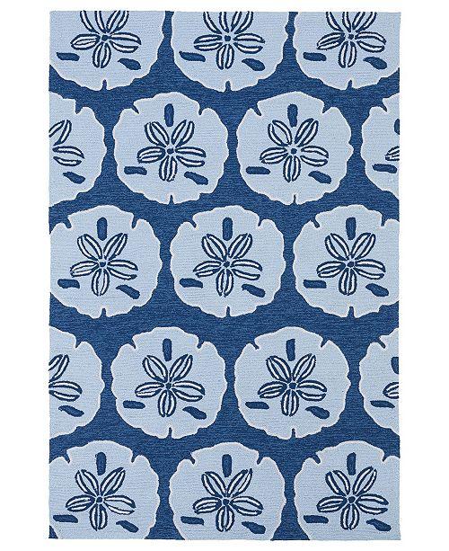 Kaleen Matira MAT06-17 Blue 3' x 5' Area Rug