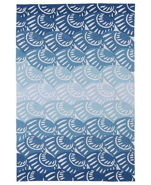 """Kaleen Matira MAT10-17 Blue 8'6"""" x 11'6""""Area Rug"""