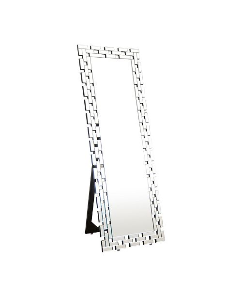 Abbyson Living Jericho Chain Link Standing Floor Mirror