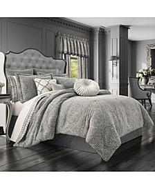 J Queen Matteo Queen 4pc. Comforter Set