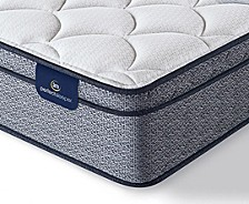 "Perfect Sleeper Elkins II 11"" Plush Euro Pillow Top Mattress - Twin"