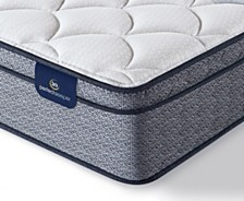 "Serta Perfect Sleeper Elkins II 11"" Plush Euro Pillow Top Mattress - Queen"