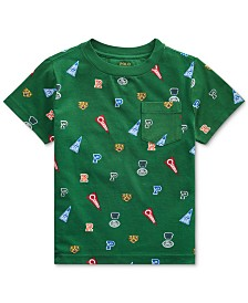 Polo Ralph Lauren Little Boys Jersey Cotton T-Shirt, Created For Macy's