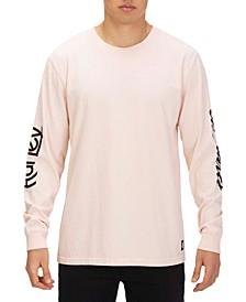 X Carhartt Men's Logo Long Sleeve T-Shirt