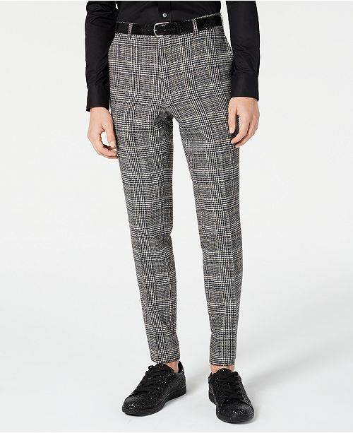 Paisley & Gray Men's Slim-Fit Dress Pants made with Recycled Wool