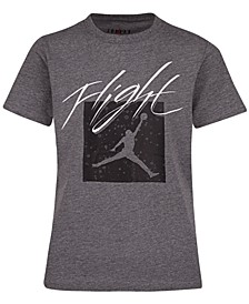 Big Boys Jumpman Flight Crew Graphic T-Shirt