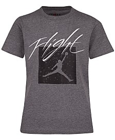 Jordan Big Boys Jumpman Flight Crew Graphic T-Shirt