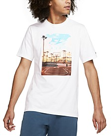 Men's Photo Graphic Basketball T-Shirt
