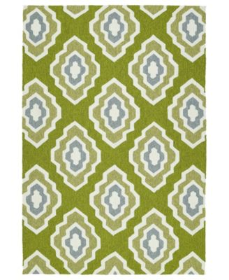 Escape ESC02-50 Green 8' x 10' Area Rug