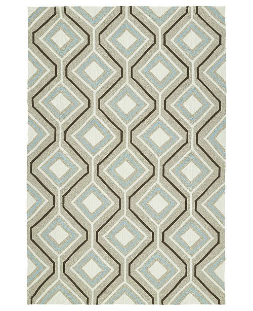 Kaleen Escape ESC04-82 Light Brown 4 'x 6' Area Rug