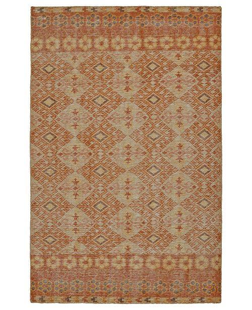 Kaleen Relic RLC04-89 Orange 2' x 3' Area Rug