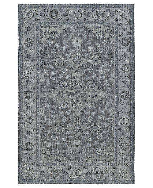 Kaleen Relic RLC09-75 Gray 8' x 10' Area Rug