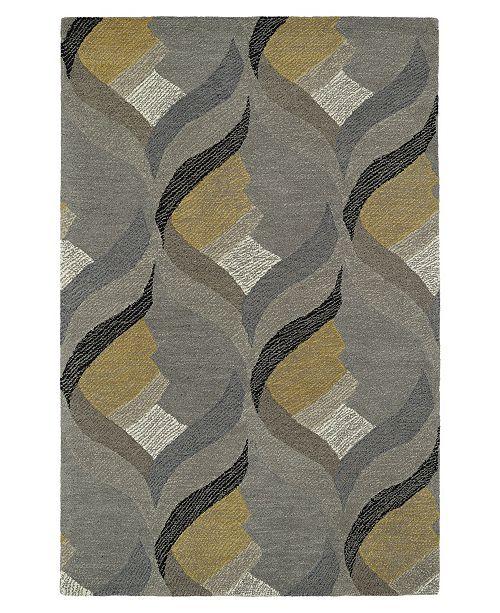 Kaleen Montage MTG06-75 Gray 8' x 10' Area Rug