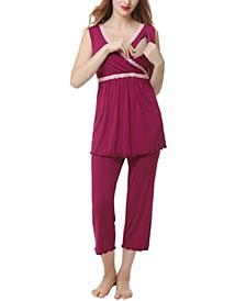Kimi & Kai Penny Maternity Nursing Pajama Set