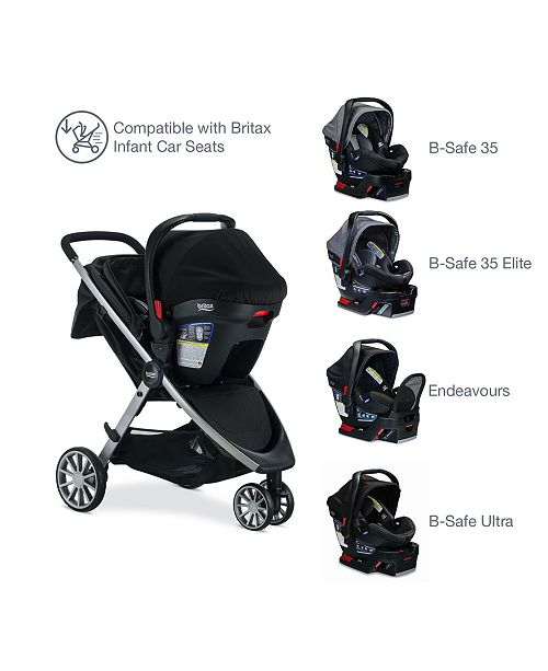 Britax B Free Stroller Cool Flow Collection Reviews All Baby
