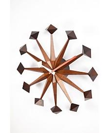 Stilnovo Sicily Polygon Mid Century Clock