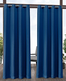 "Exclusive Home Aztec Indoor/Outdoor Grommet Top 54"" X 108"" Curtain Panel Pair"
