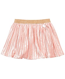 Little Girls Pleated Charm Skirt