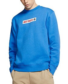 Nike Men's Crew Fleece Just Do It Sweatshirt
