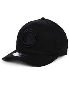 New Era Detroit Pistons Triple Black 9FIFTY Snapback Cap