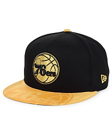 New Era Philadelphia 76ers Gold Viz 9FIFTY Cap