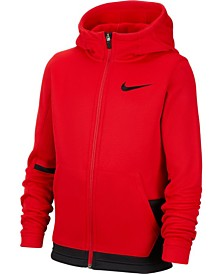 Nike Big Boys Dri-FIT Therma Elite Zip-Up Hoodie