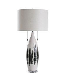 Yates Field 37in Ceramic Body Table Lamp