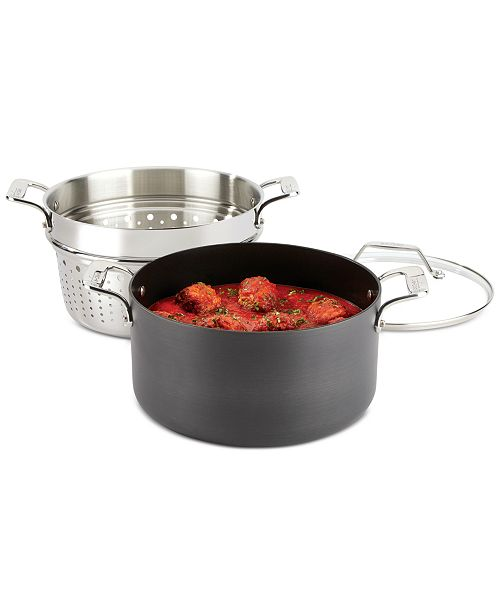 All-Clad All Clad Essentials Nonstick 7-Qt. Covered Multi-Pot with Insert