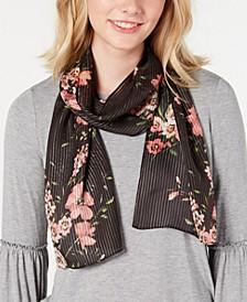 Nomadic Floral Silk Oblong Scarf