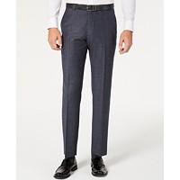 Tommy Hilfiger Men's Modern-Fit Stretch Plaid Suit Separate Pants