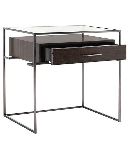 Furniture Caelan Side Table, Quick Ship