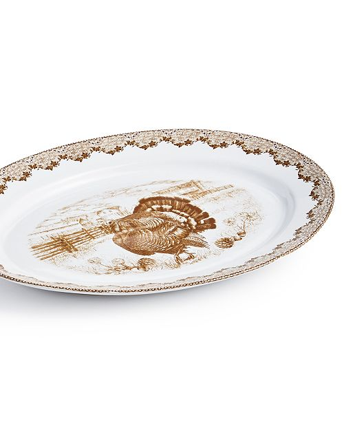 Martha Stewart Collection Harvest Platter, Created for Macy's