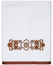 """Scroll Cotton 27"""" x 50"""" Bath Towel"""
