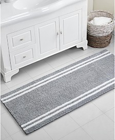 "VCNY Home Stripe Noodle 24"" x 60"" Bath Rug"