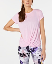 Calvin Klein Performance Twist-Front T-Shirt