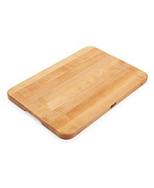 "Maple Wood 20"" x 14"" Reversible Edge Grain Cutting Board"