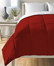 Down Alternative King Reversible Comforter