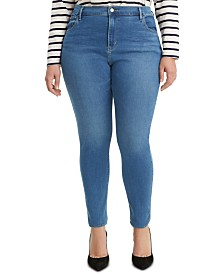 Levi's® Trendy Plus Size 720 High-Rise Super Skinny Jeans