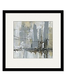 Midtown Bridge II Framed and Matted Art Collection