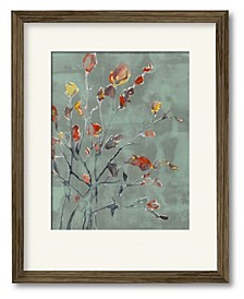 Wildflower Watercolors II Framed and Matted Art Collection