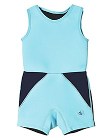 Toddler and Little Boy's Jammer Wetsuit with Swim Diaper