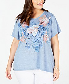 Plus Size Graphic T-Shirt, Created for Macy's