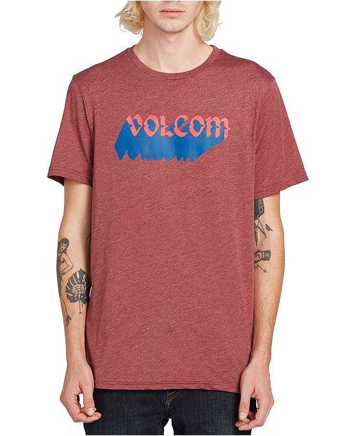 Volcom Men's Night Creep Logo Graphic T-Shirt