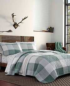 Boulder Plaid Quilt Set, Full/Queen