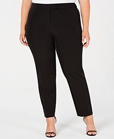 Plus Size Straight-Leg Pants