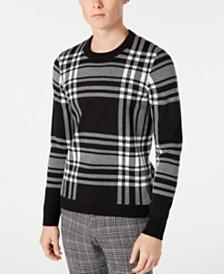 Paisley & Gray Men's Slim-Fit Plaid Sweater