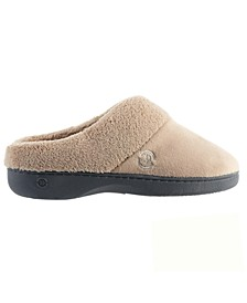 Isotoner Women's Mixed Microterry Clog Slippers, Online Only