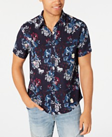 GUESS Men's Guardian Floral Shirt