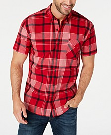 Men's Binso Plaid Shirt Shirt